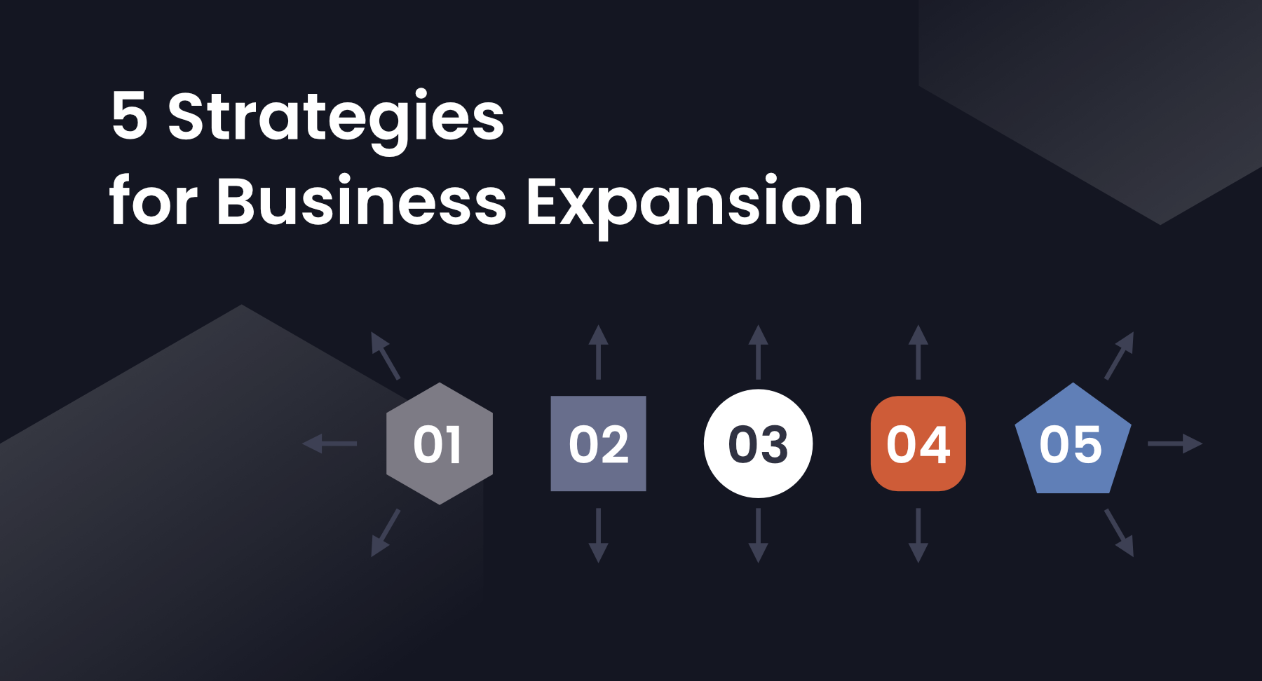 5 Strategies for Business Expansion