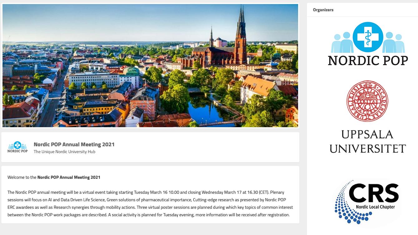 Nordic POP Annual Meeting 2021