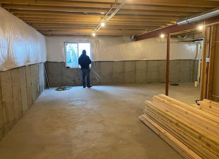 Cook County Modern Basement Finishing & Update