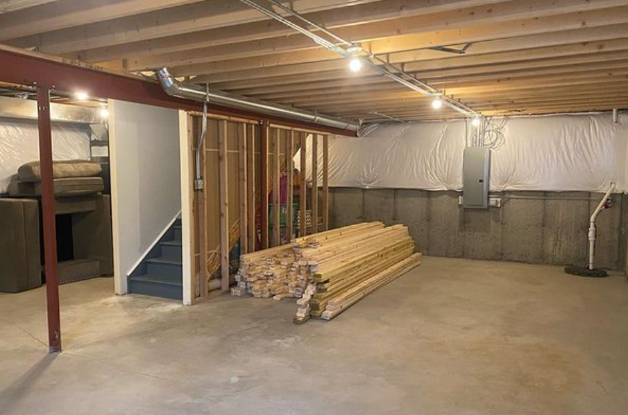 Modern Basement Finishing Services in Cook County
