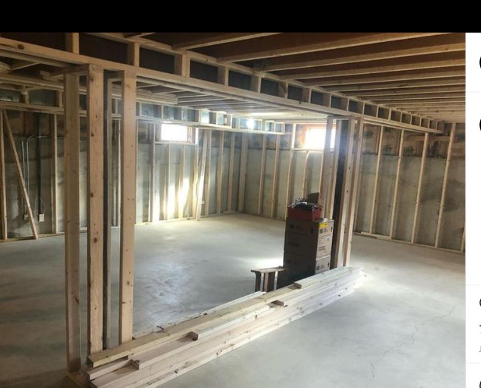 DuPage County Modern Basement Upgrade