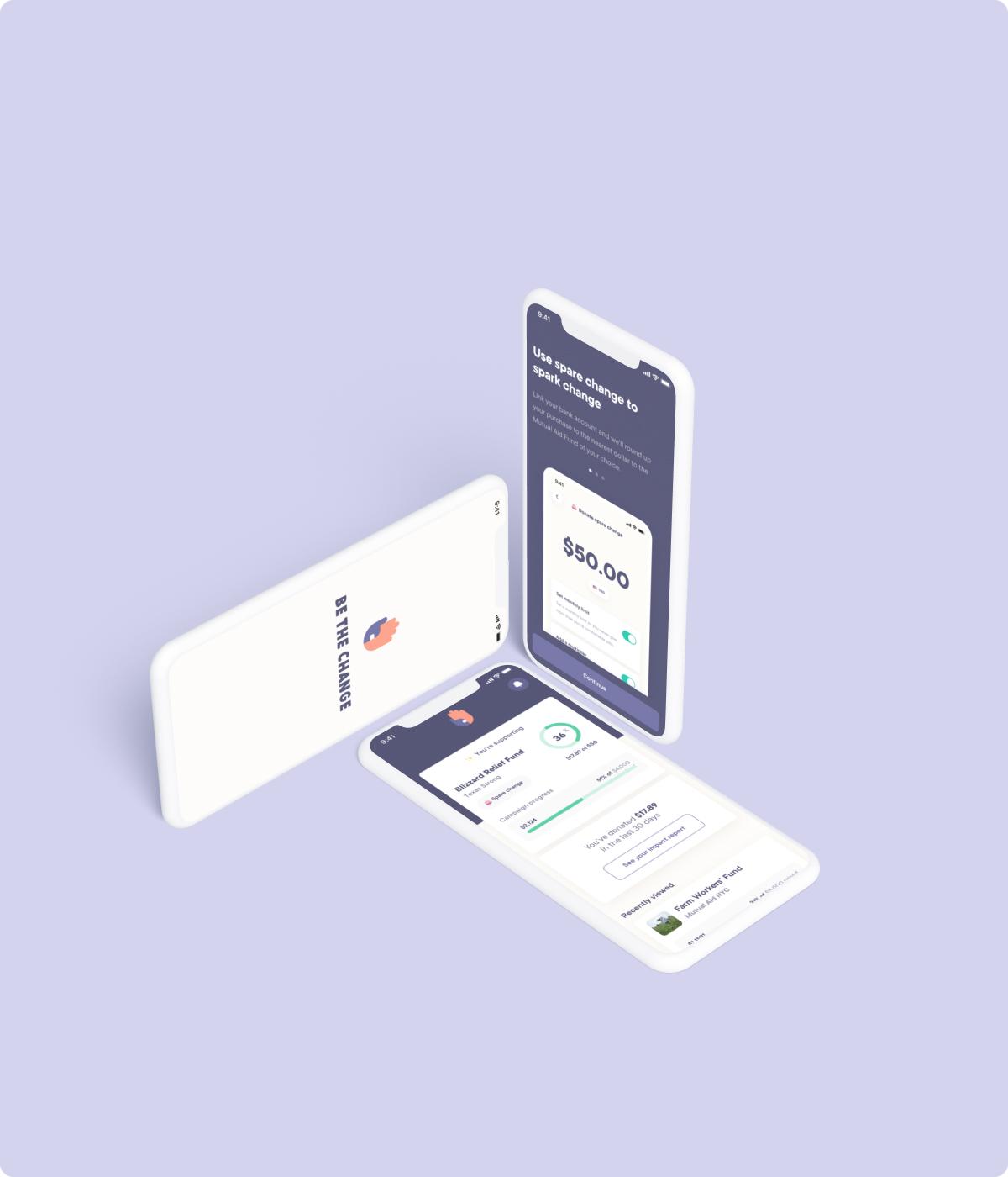 Mockup of responsive UX/UI design of Kaus Insurance