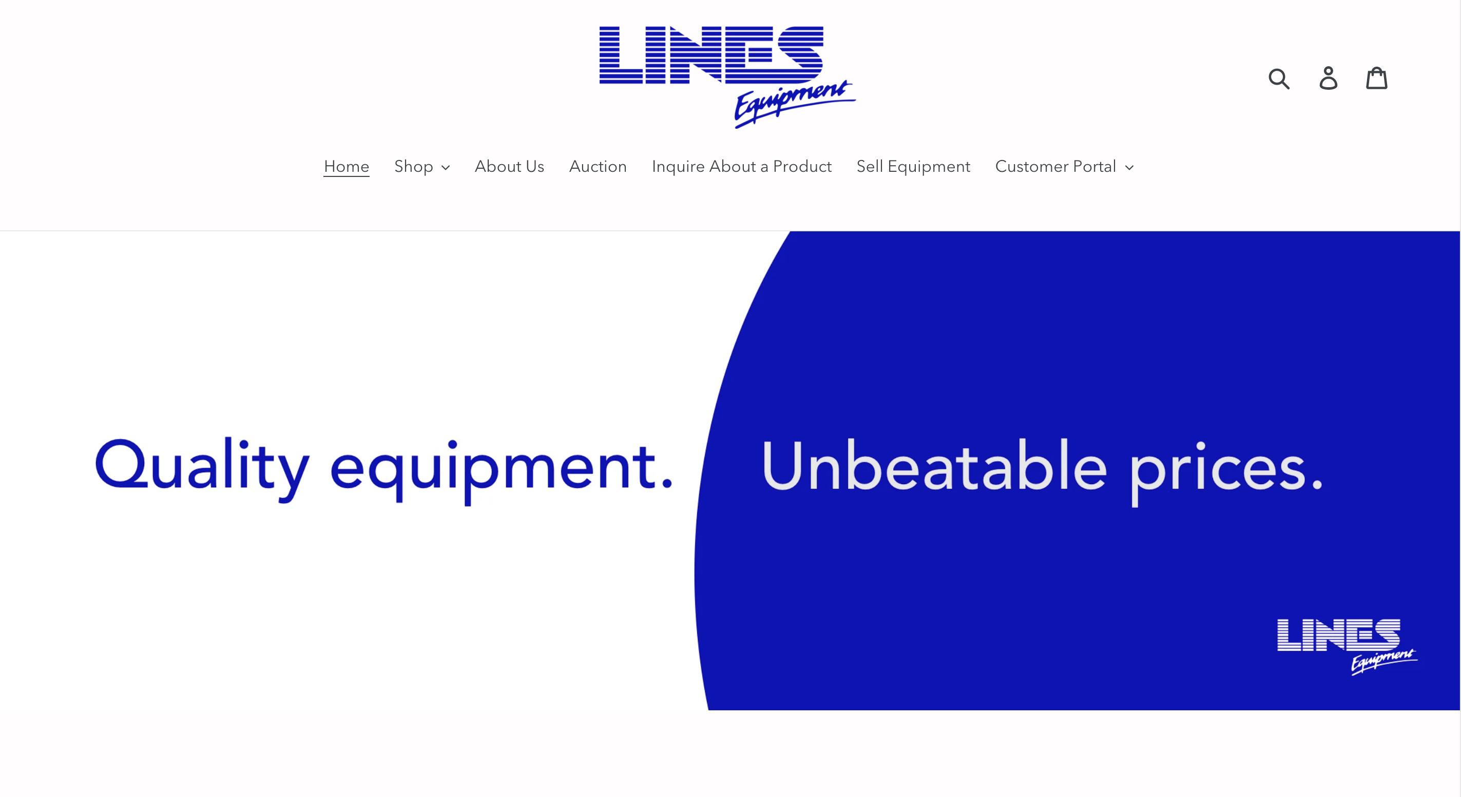 Lines Equipment