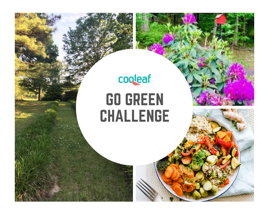 Cooleaf Go Green Challenge for Earth Day