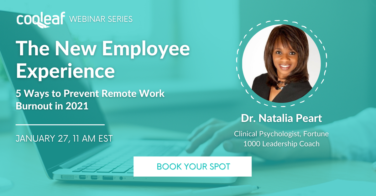 [WEBINAR] The New Employee Experience: 5 Ways to Prevent Remote Work Burnout in 2021