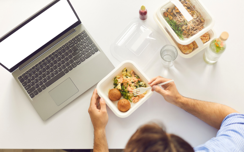 Host a virtual lunch to bring your remote team together