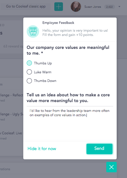 Get feedback from new hires with automated pulse surveys