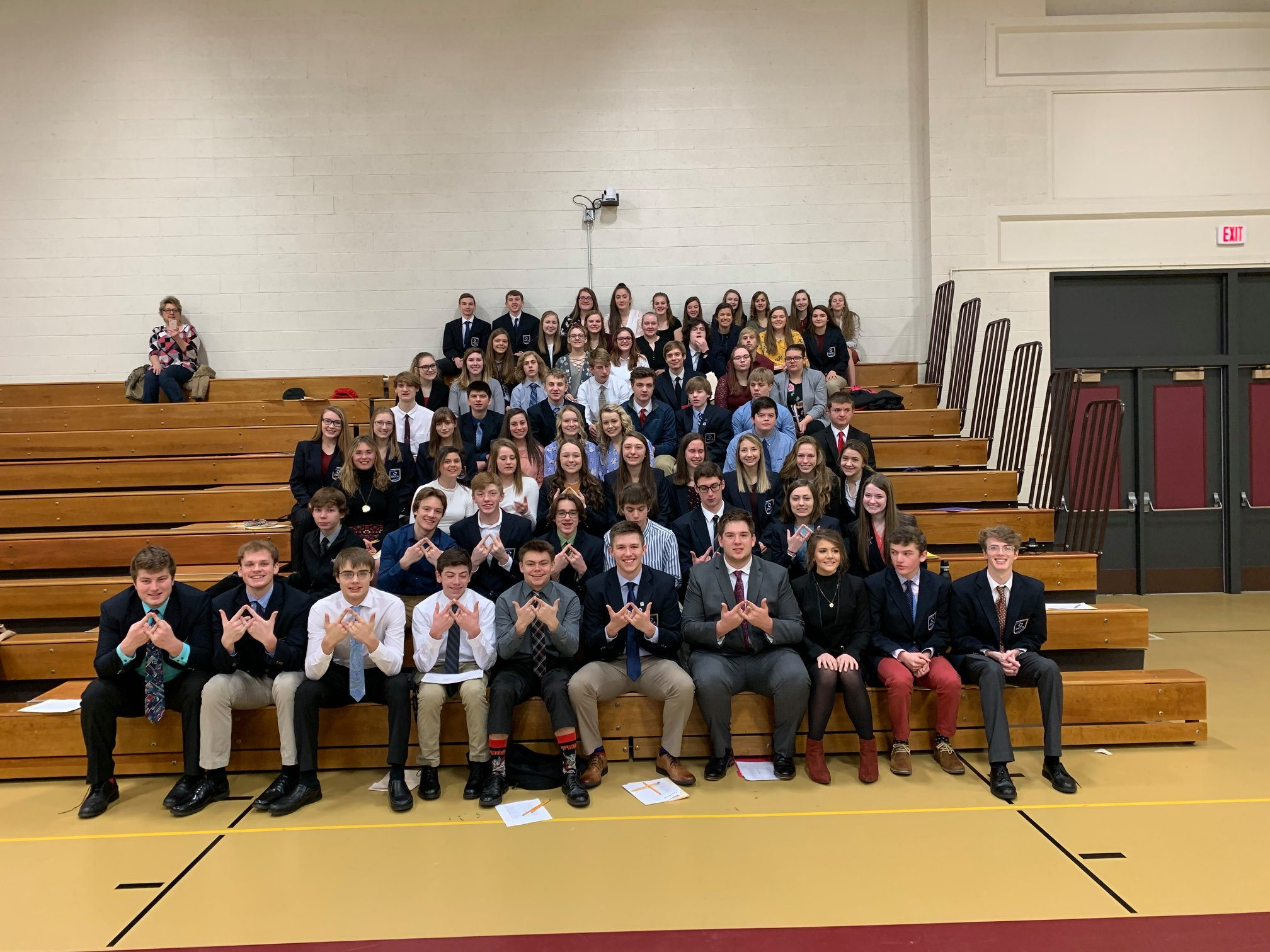 Group of WI DECA Students