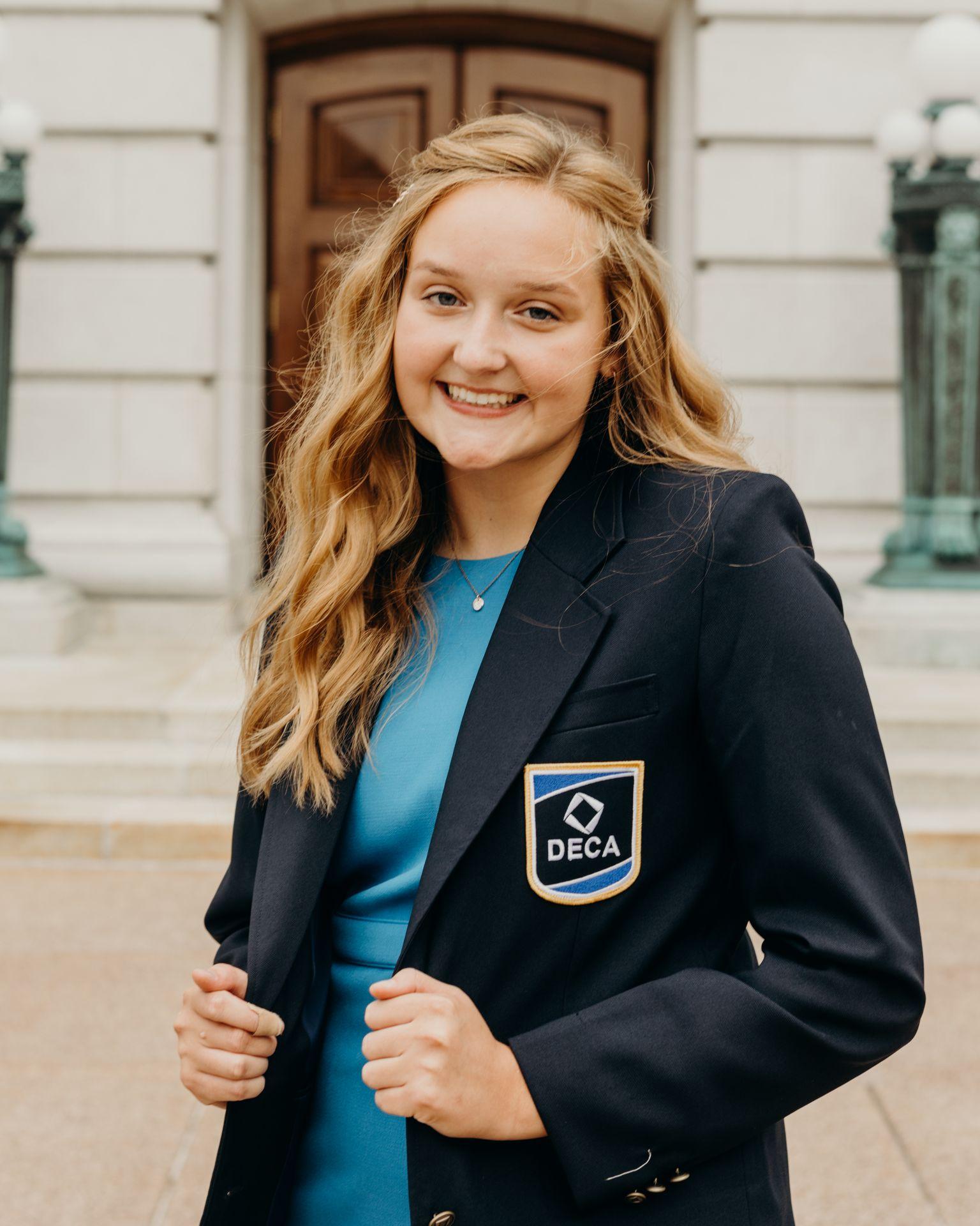WI DECA Team 55 President Olivia Lemanski