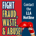 Fight Fraud - Contact the LLA Hotline