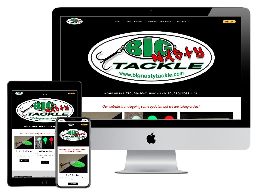 Big Nasty Tackle website