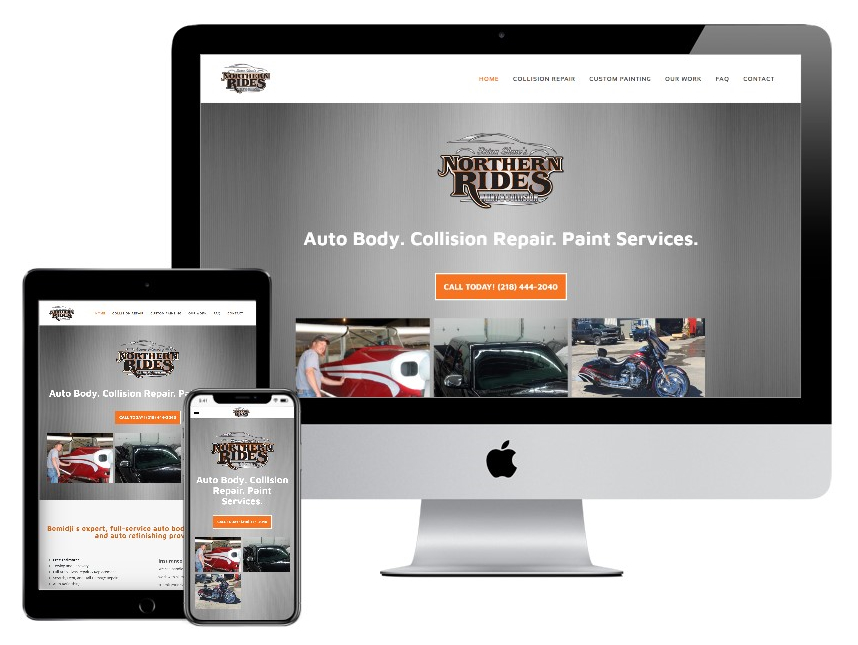 Northern Rides website