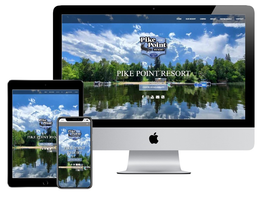 Pike Point Resort website