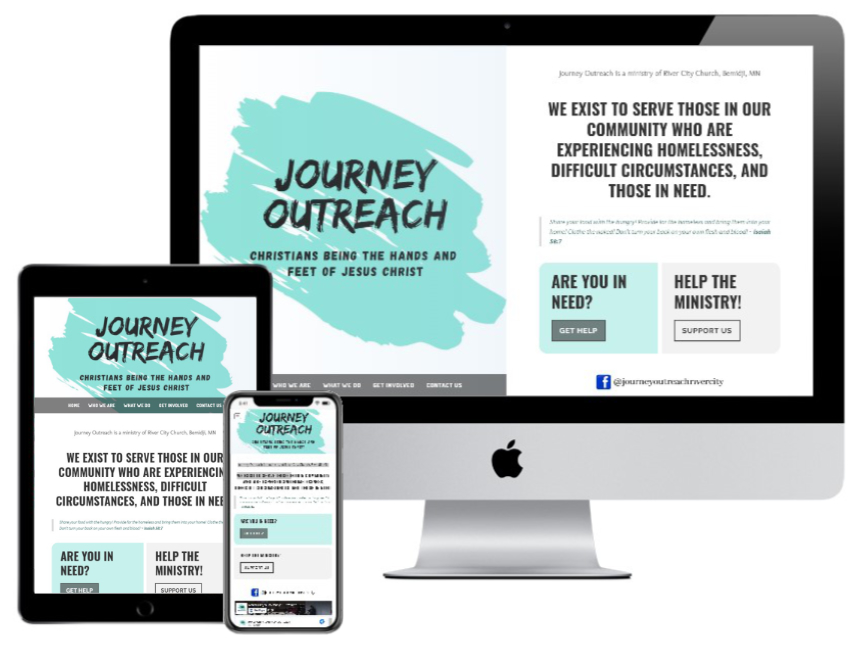 Journey Outreach Bemidji website