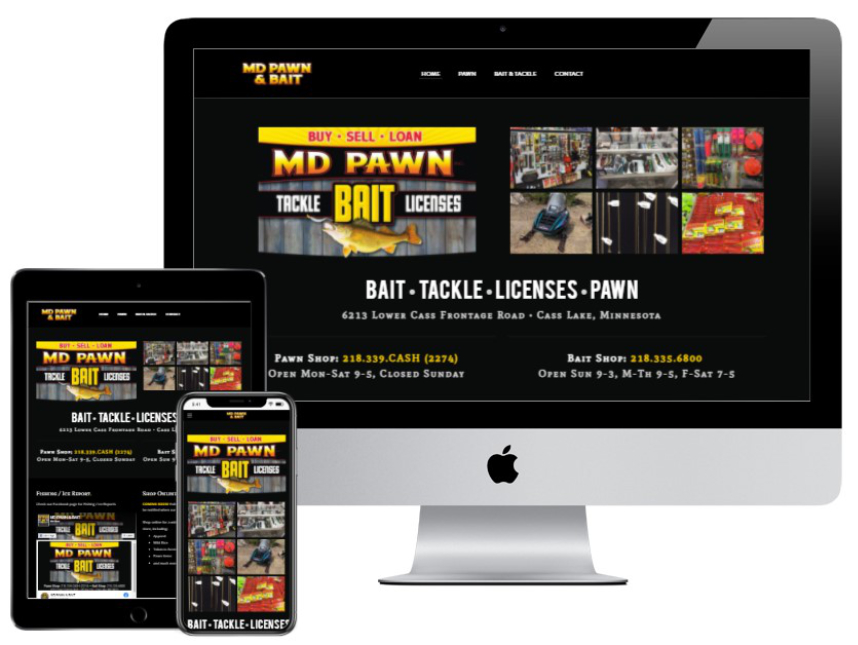 MD Pawn & Bait website
