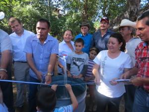 Casitas con agua potable, Nueva Concepcion Chalate 16 diciemb 2014