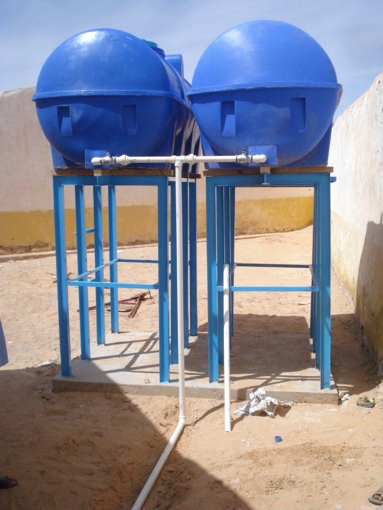 Cisternas en PEHD para abastecimiento escuelas