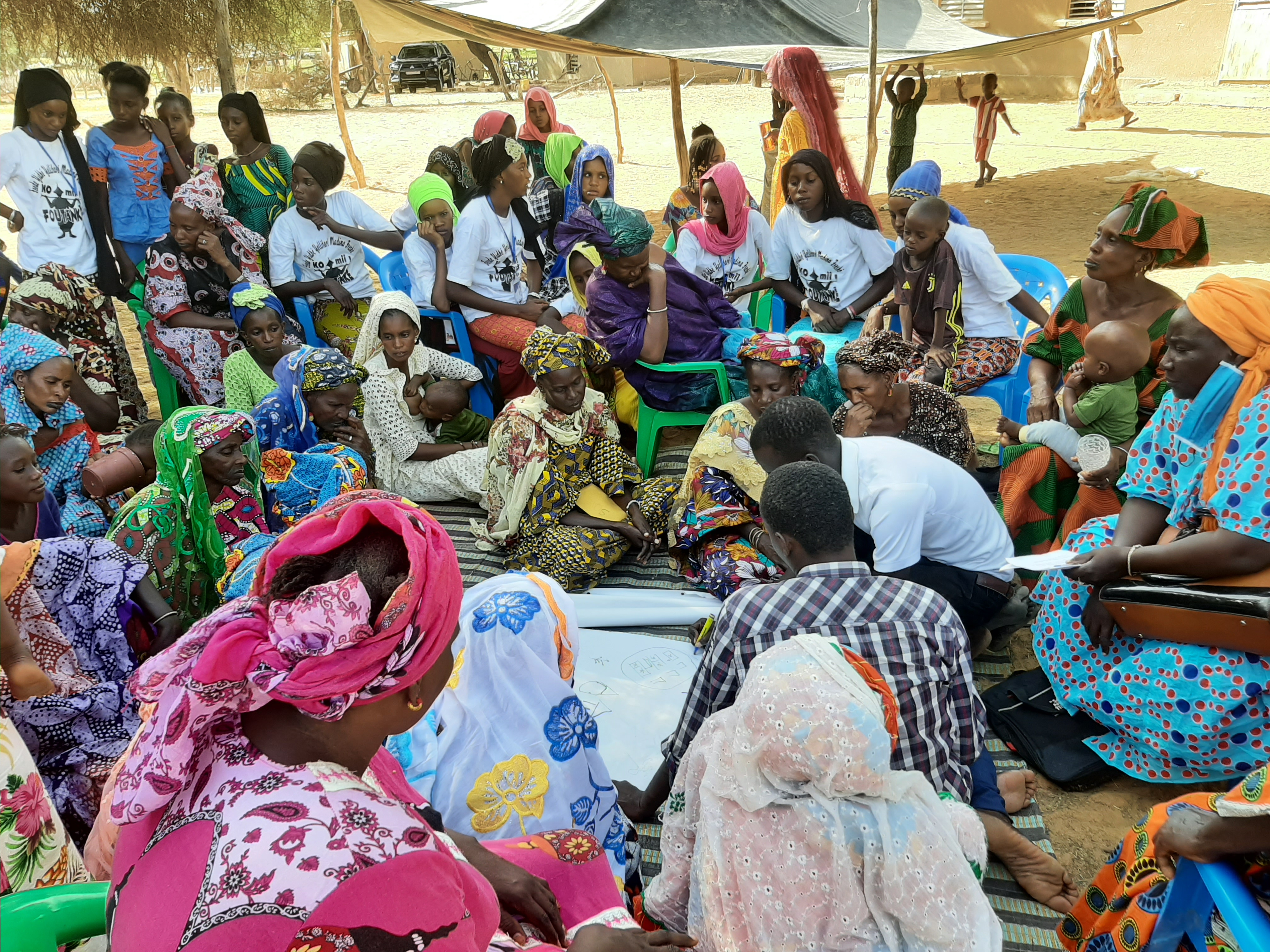 Apoyo a las familias productoras de medina fresbé, agnam tonguel y mboyo dieri para mejorar la seguridad alimentaria a través de un sistema de producción agroecológica