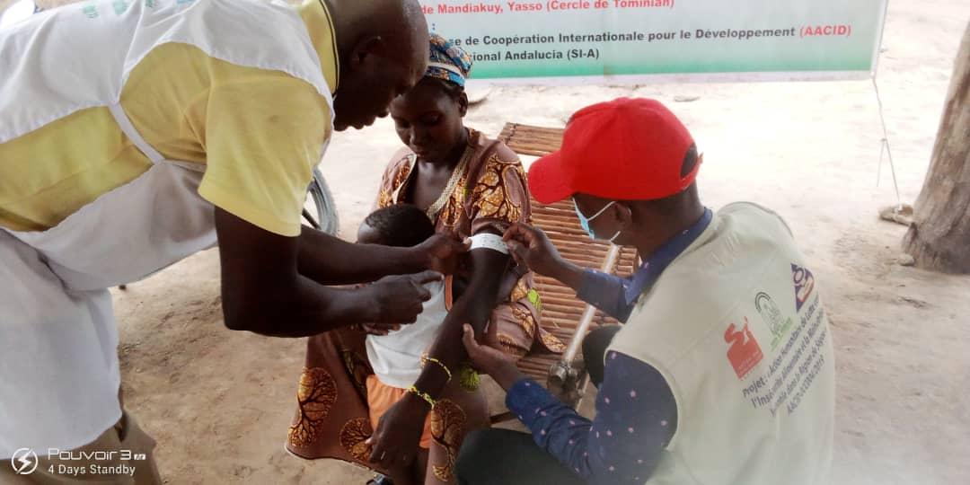 Acción humanitaria de lucha contra la inseguridad alimentaria y la malnutrición en la región de Segou, Mali