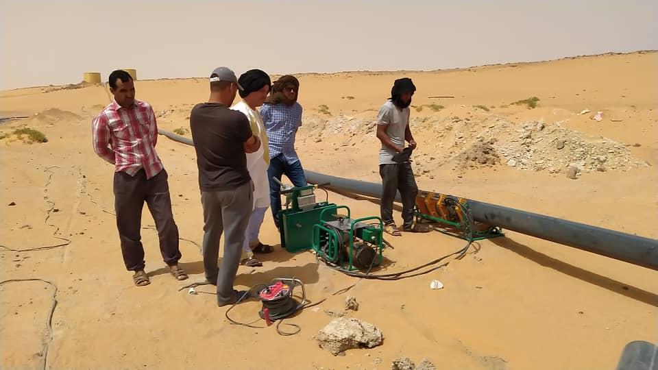 Mejora y extensión del acceso al agua potable en los Campamentos de Refugiados Saharauis de Tindouf, Argelia