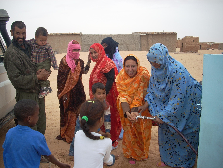 Mejora del abastecimiento de agua potable en los Campamentos de Refugiados Saha  rauis, Fase VI