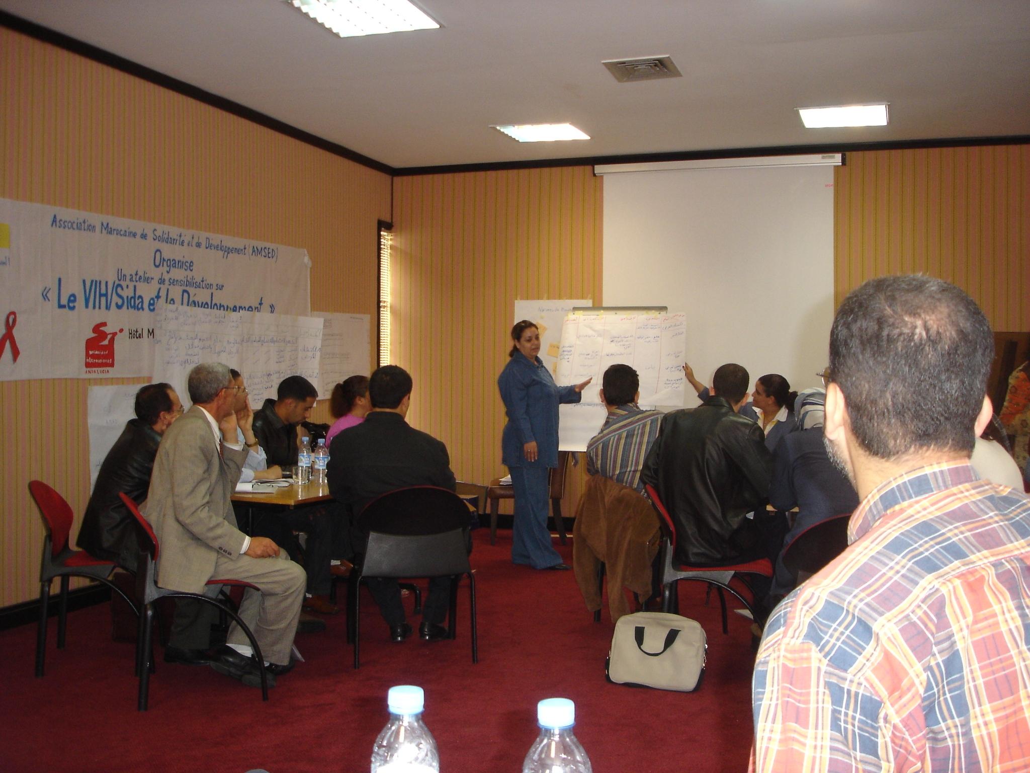 Promoción de respuestas al SIDA y ETS en Marruecos, fase II