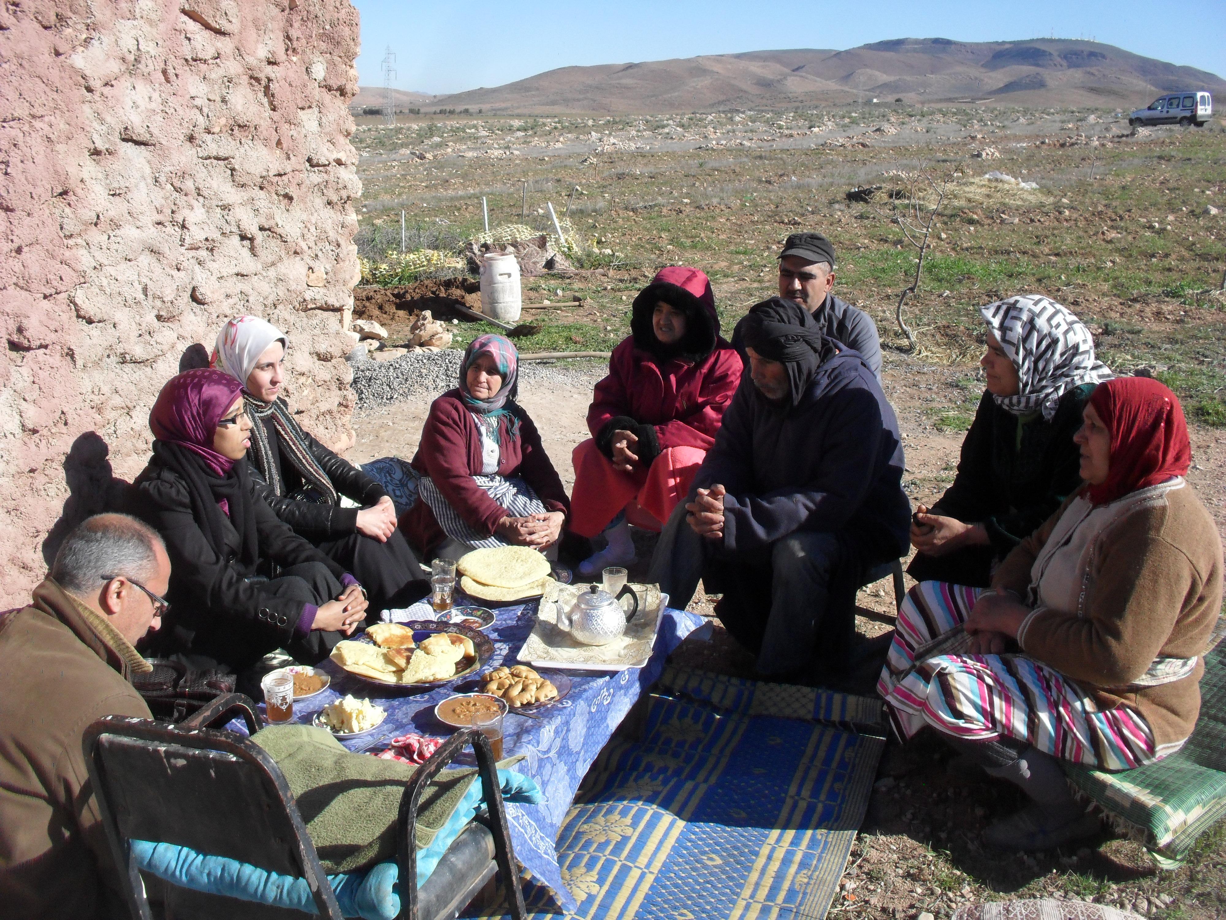 Fortalecimiento de la capacidad económica de las mujeres del municipio rural de Oulmès