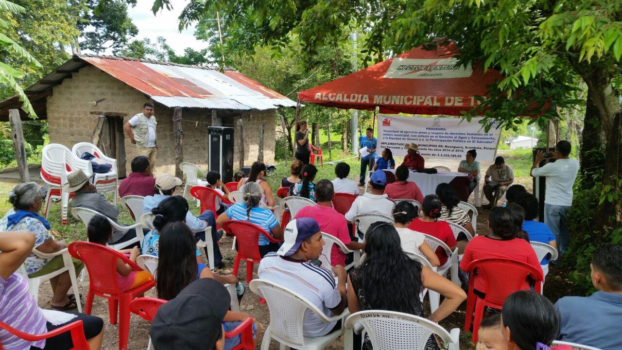 Fortalecimiento Institucional para la mejora socioambiental de 10 municipios de Chalatenango