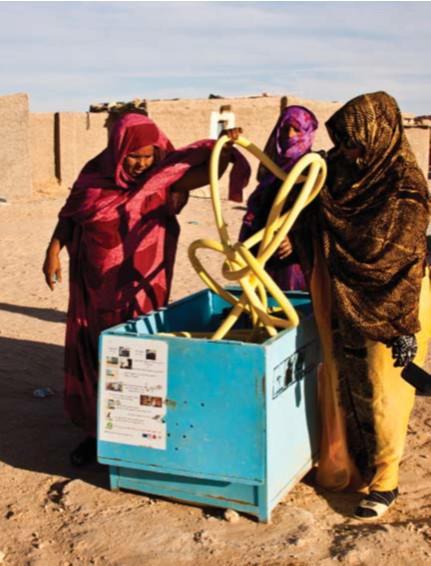 Mejora del abastecimiento de agua potable en los campamentos de refugiados saharauis de Tindouf, Fase IX-2011