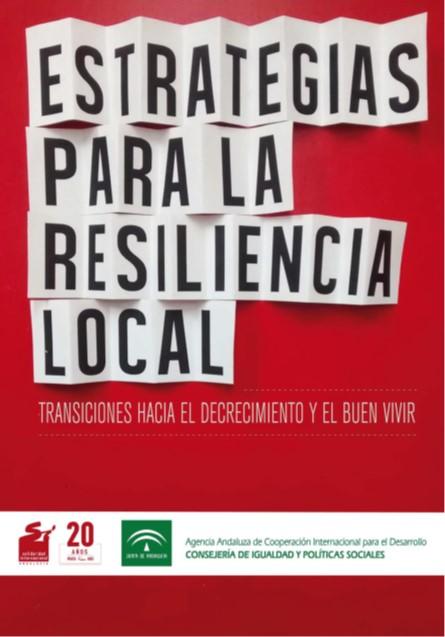 Estrategias para la resiliencia local