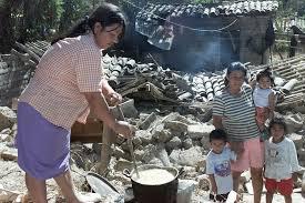 Ayuda de Emergencia a los damnificados por los terremotos de El Salvador.