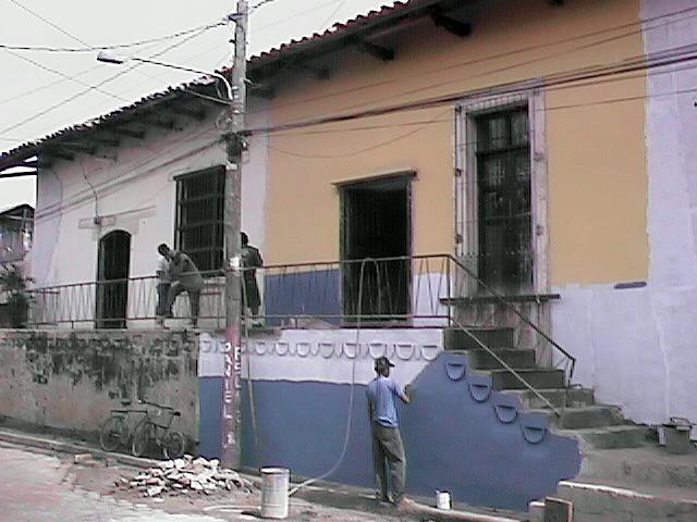 Reconstrucción del Centro Histórico de León. Nicaragua