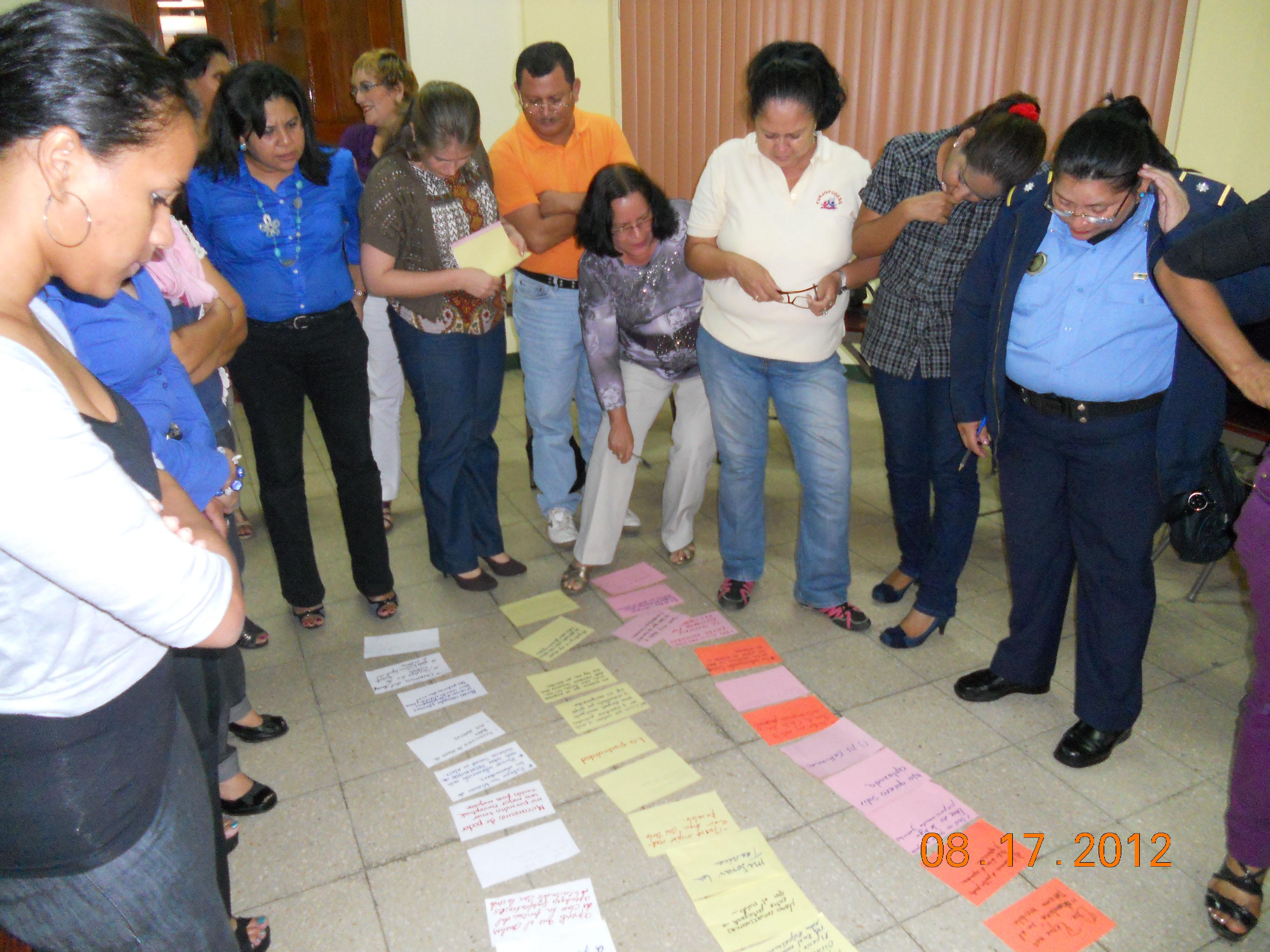 Empoderamiento de las mujeres a través de su participación activa en la gestión del agua a nivel local (El Viejo), nacional (Nicaragua) y regional (Centroamérica)