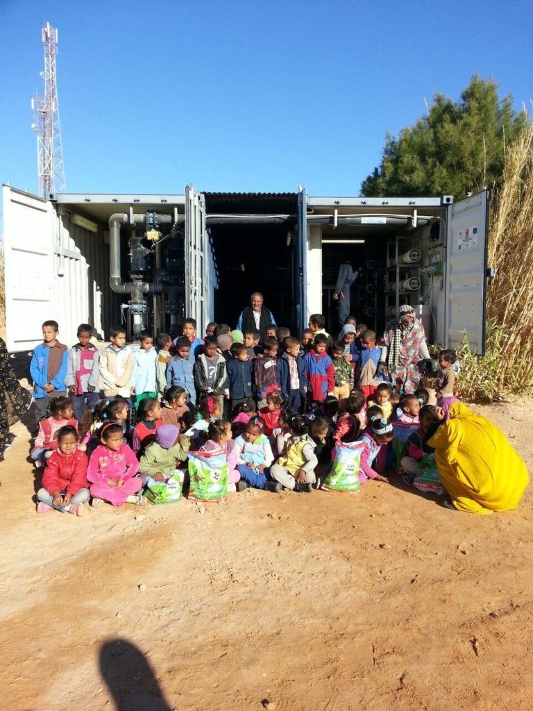 Mejora del abastecimiento de agua potable en los campamentos de refugiados saharauis de Tindouf – fase XII (Sáhara)