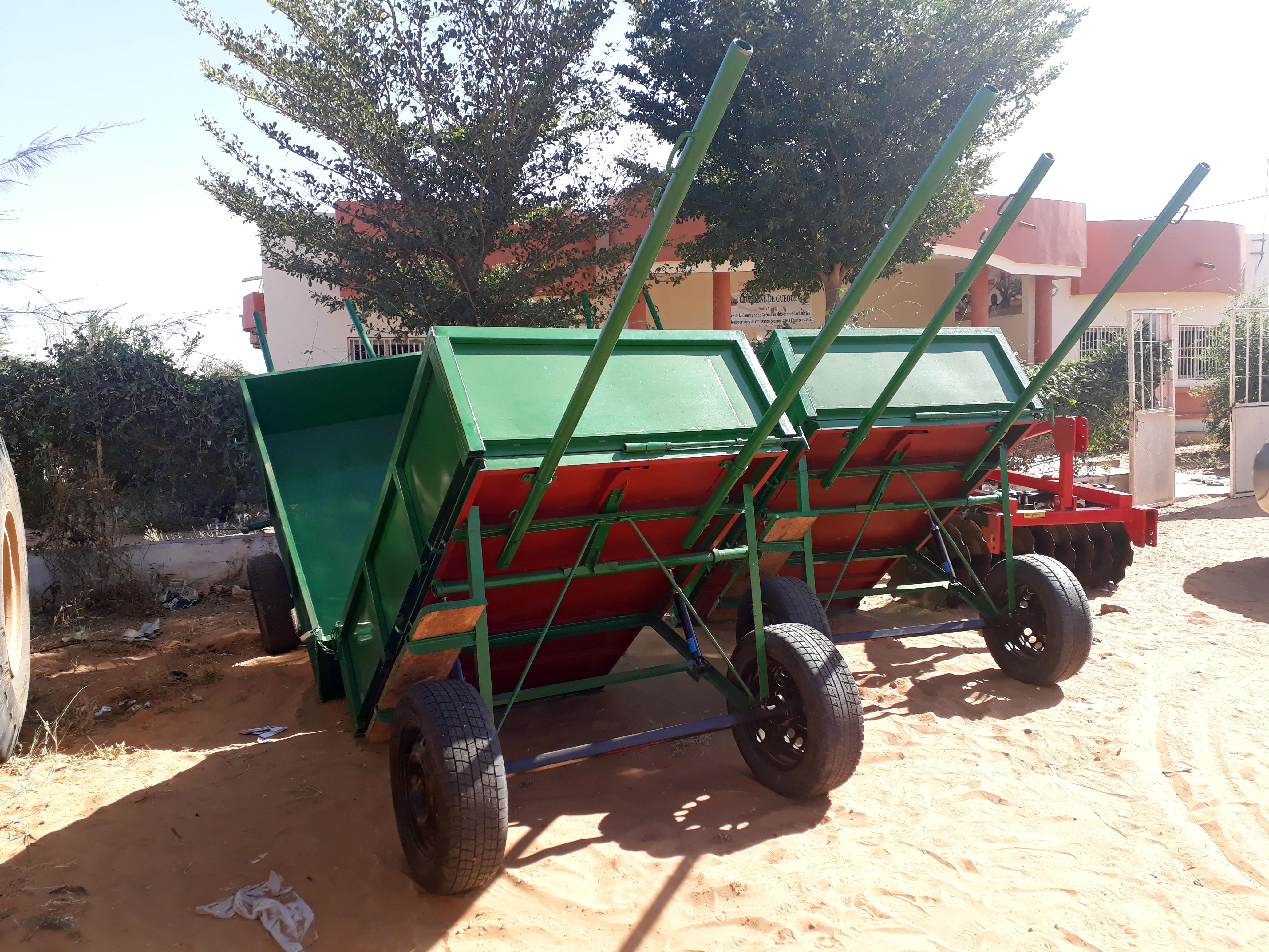 Mejora de la gestión de los residuos sólidos de la comuna de Guéoul (Departamento de Kébémer, región de Louga) de forma participativa, sostenible y con un enfoque de equidad de género