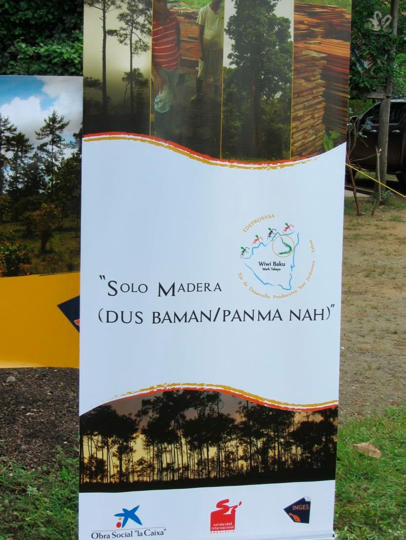NICARAGUA: Solo Madera (Dus Baman / Panma Nah)