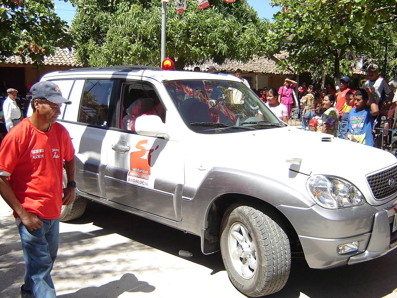 Una ambulancia para San Lorenzo