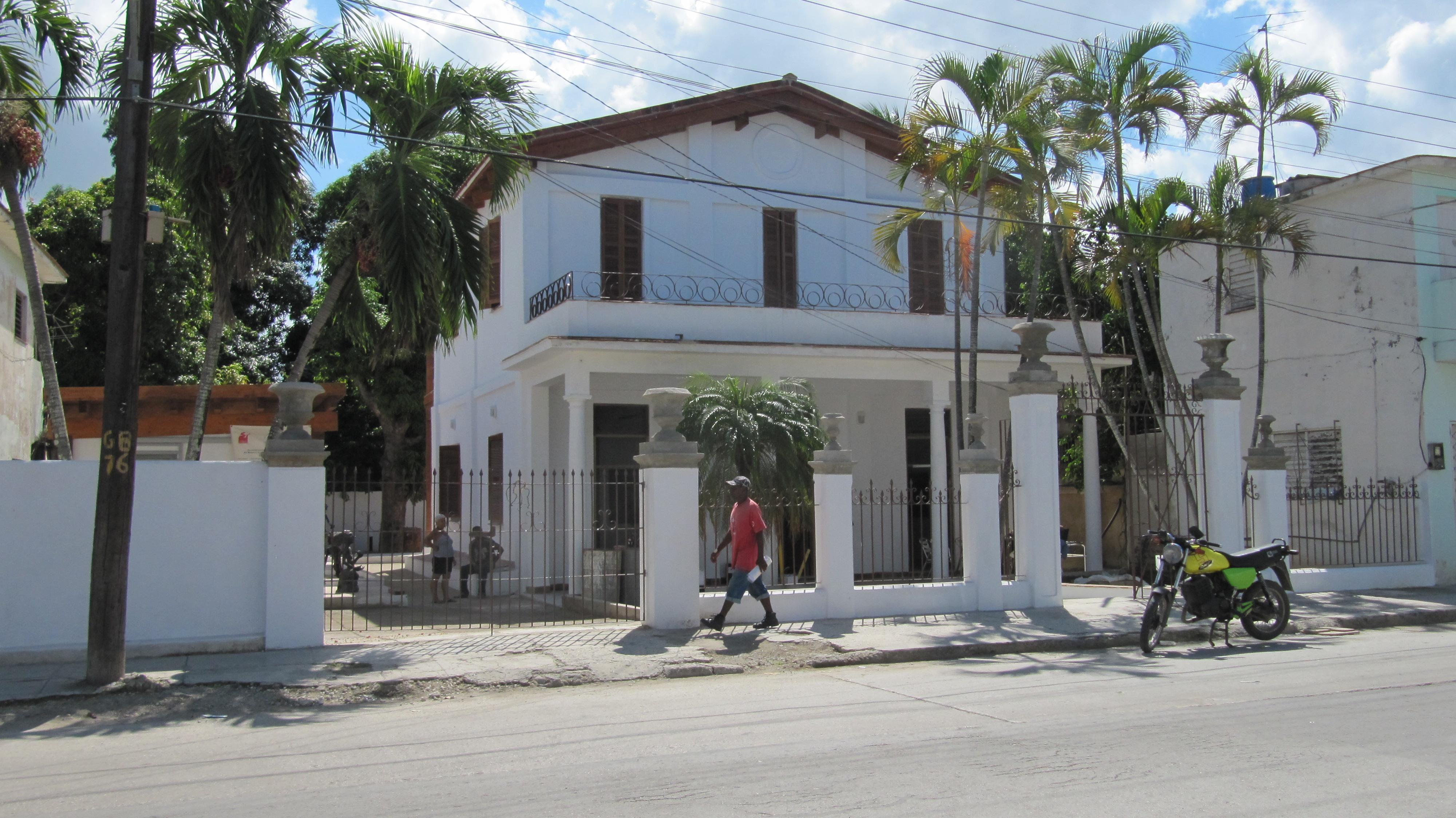 Reparación y puesta en funcionamiento de la Casa de las/os Artistas en Guanabacoa