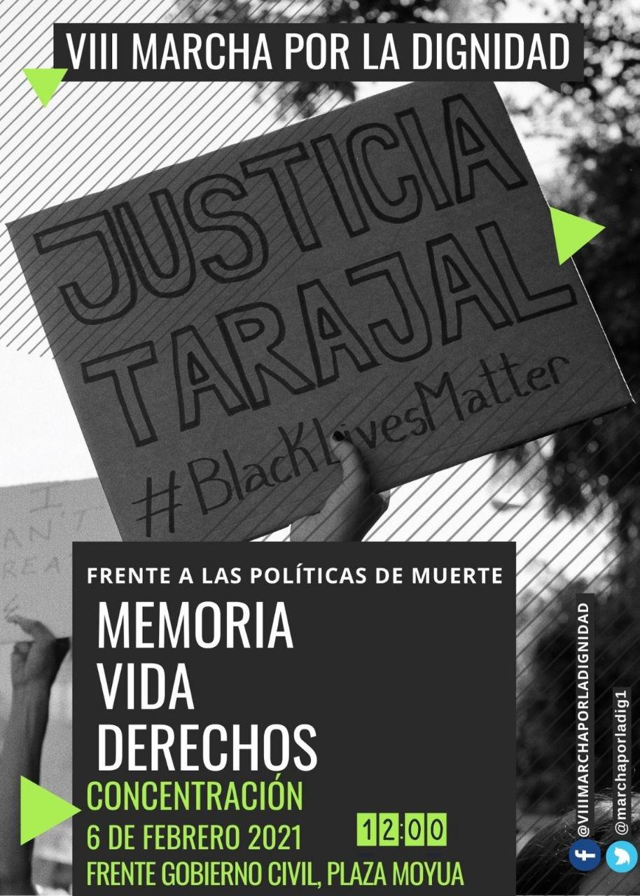 VII Marcha por la Dignidad 2021. Justicia Tarajal