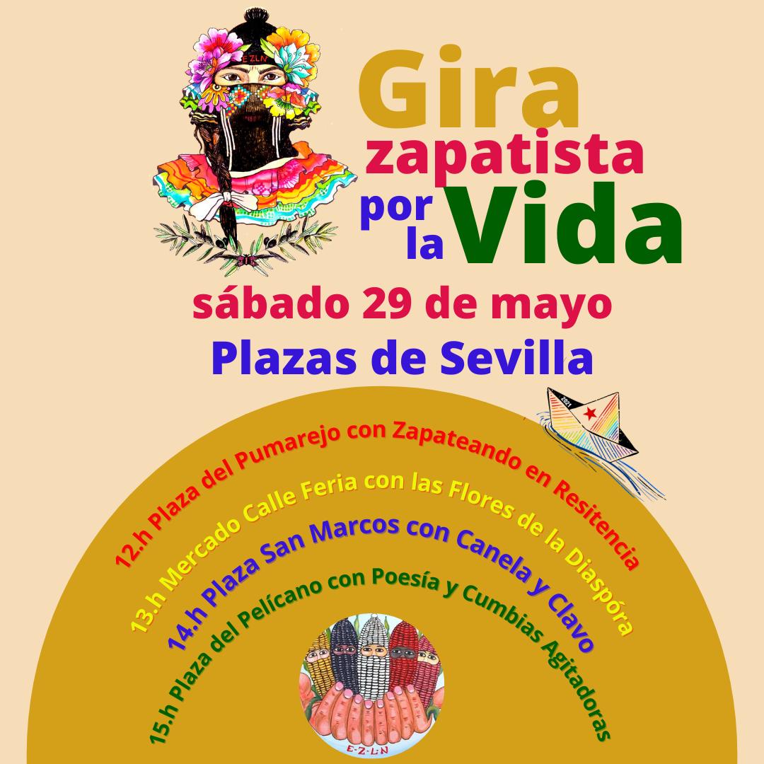 Actividades preparativas Gira Zapatista por la Vida