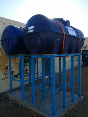 Mejora del sistema de almacenamiento y distribución de agua en las escuelas de las wilayas de Auserd y Smara (CRA de Tindouf)