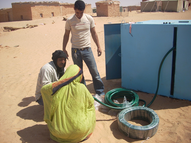 Mejora del abastecimiento de agua en los campamentos de refugiados saharauis de Tindouf, Argelia