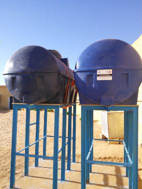 Mejora del sistema de almacenamiento y distribución de agua en las escuelas de la wilaya de Dakhla