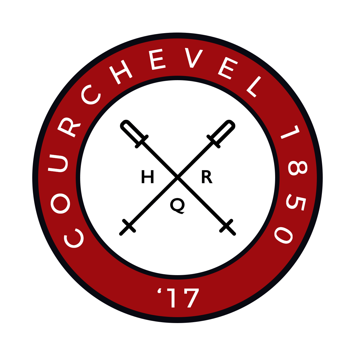 HQR Ski 2017 badge