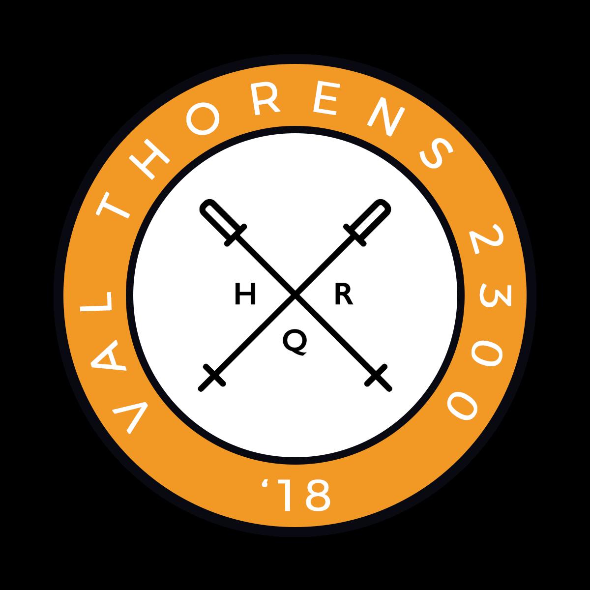 HQR Ski 2018 badge