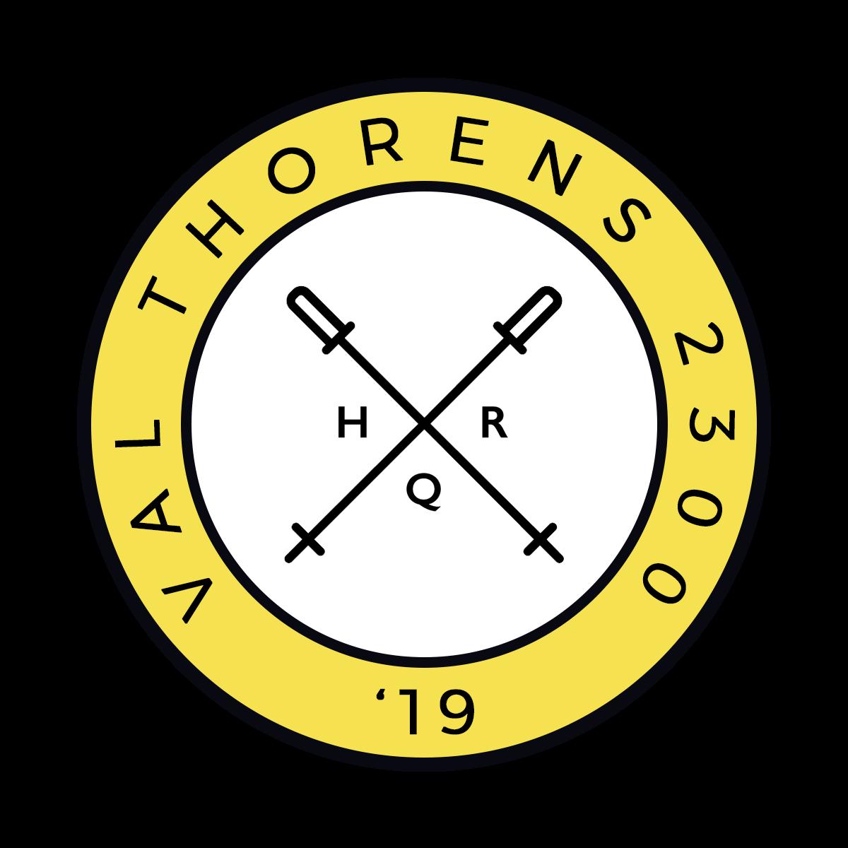 HQR Ski 2019 badge