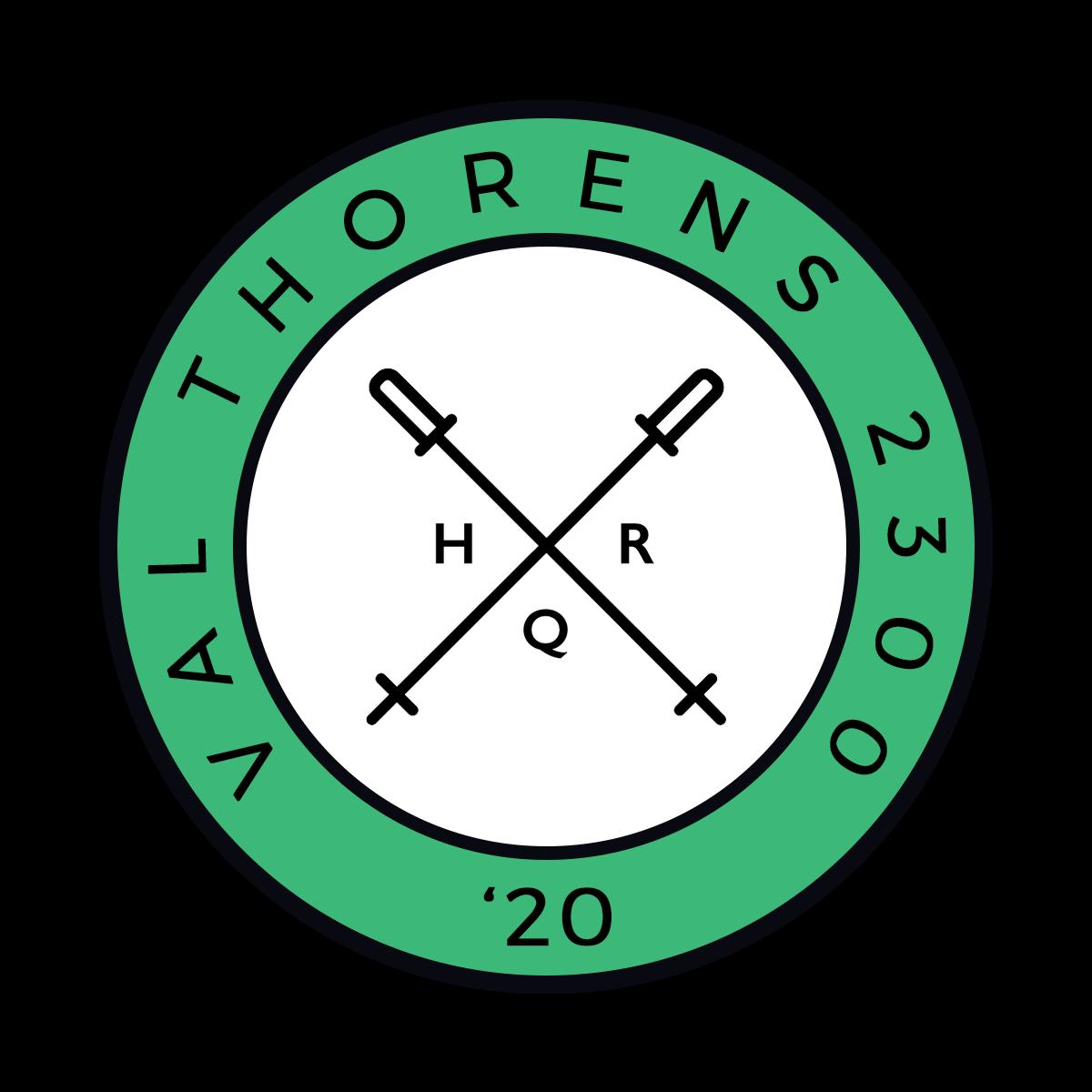 HQR Ski 2020 badge