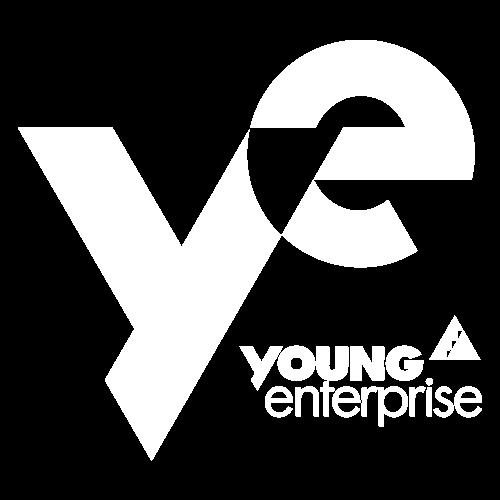 Young Enterprise logo white transparent background