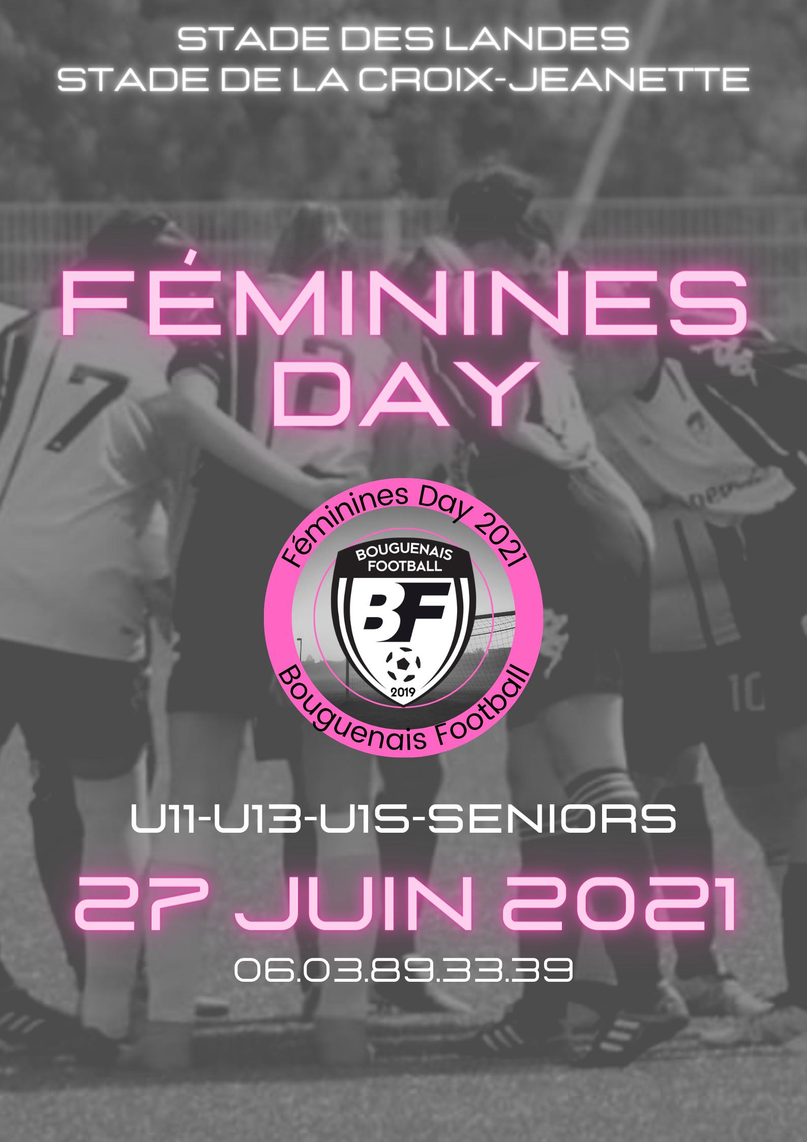 Féminines Day 2021