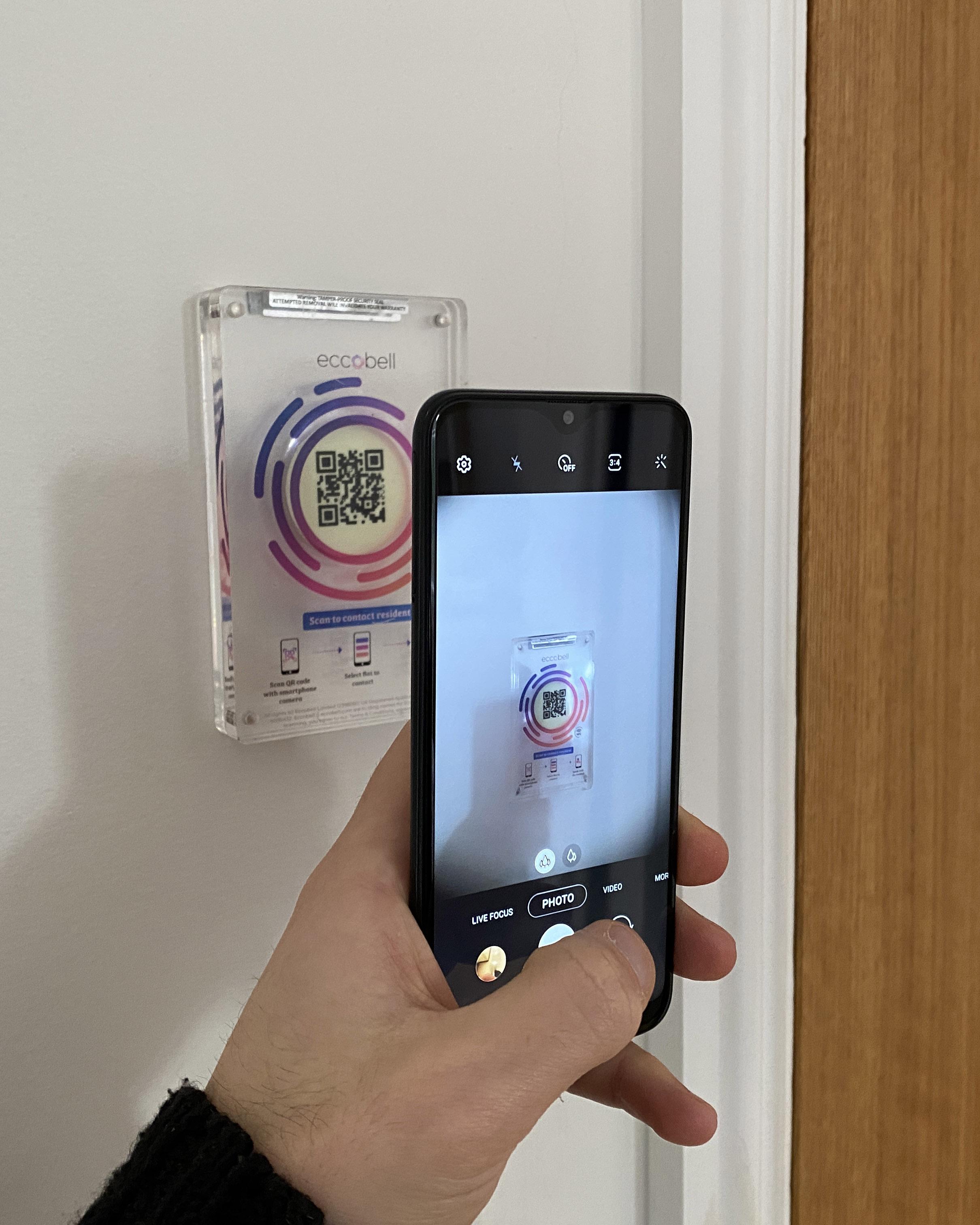Eccobell Display Code Scan